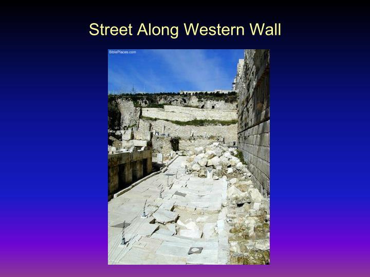 Street Along Western Wall