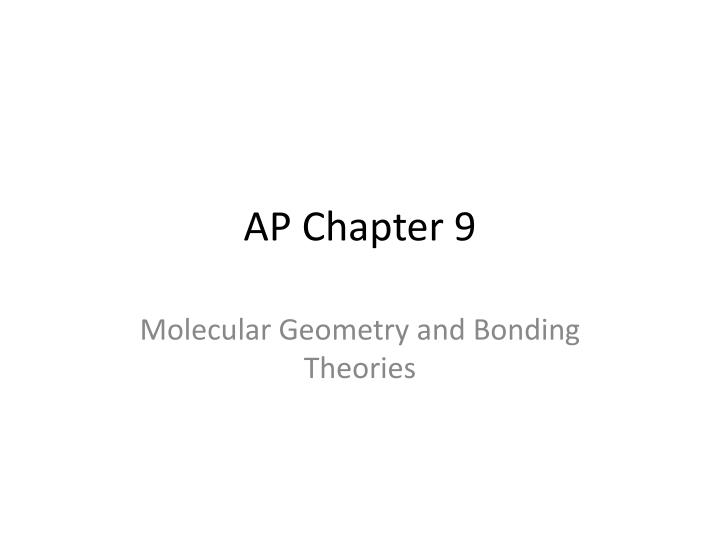 ap chapter 9