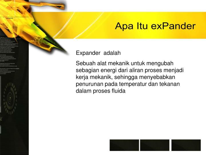 Apa Itu exPander