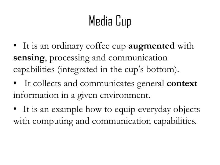 Media Cup