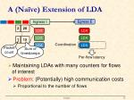 a na ve extension of lda