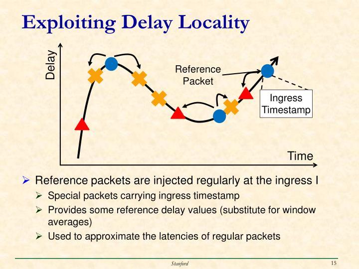 Exploiting Delay Locality