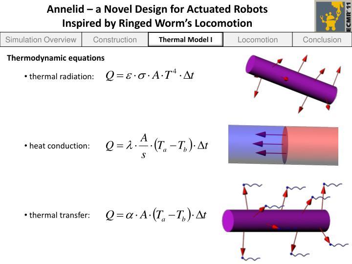 Thermal Model I