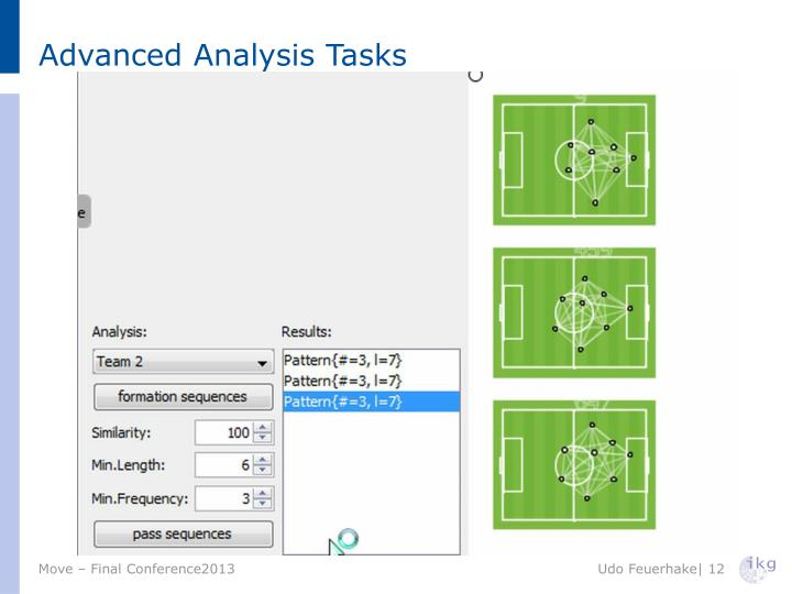Advanced Analysis Tasks