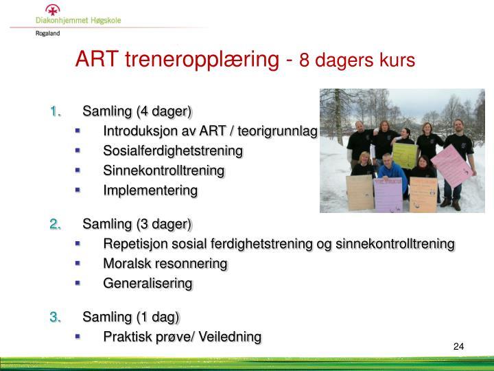 ART treneropplæring -