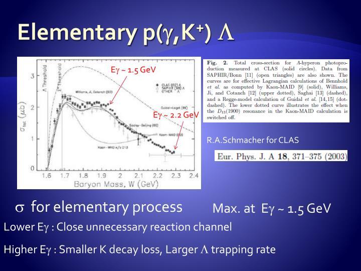 Elementary p(