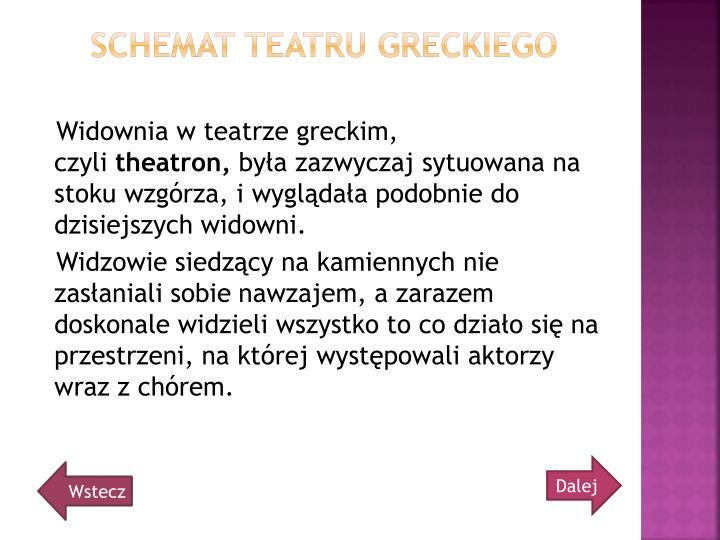Schemat teatru greckiego