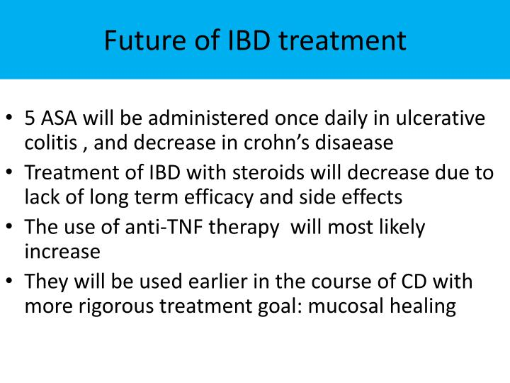 Future of IBD treatment