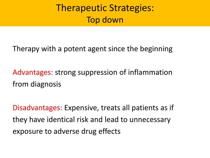 Therapeutic Strategies: