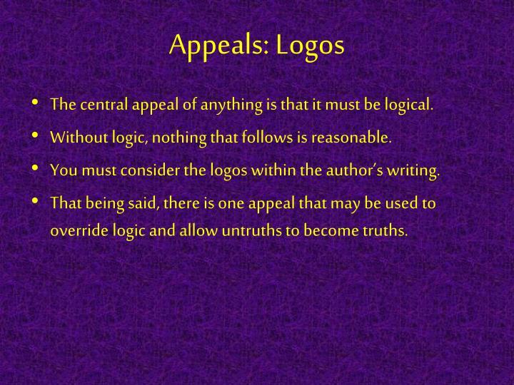 Appeals: Logos