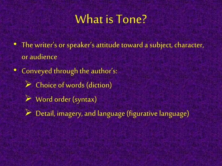 What is Tone?