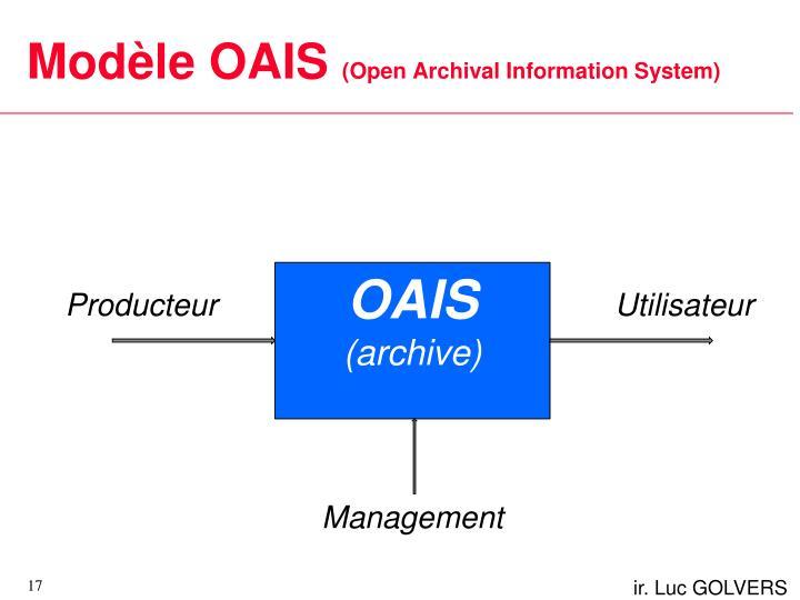 Modèle OAIS