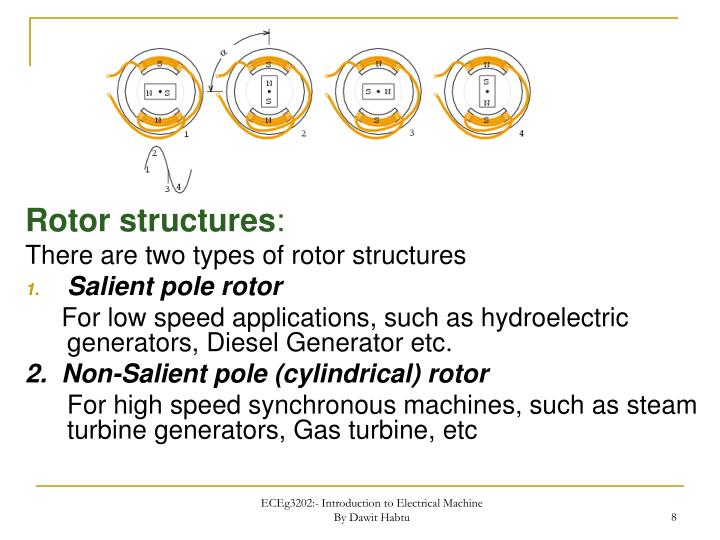 Rotor structures