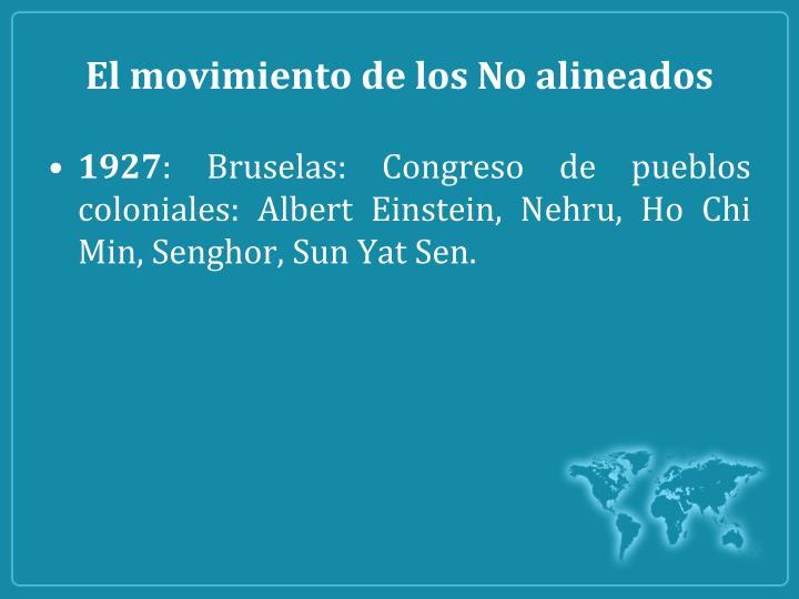 El movimiento de los No