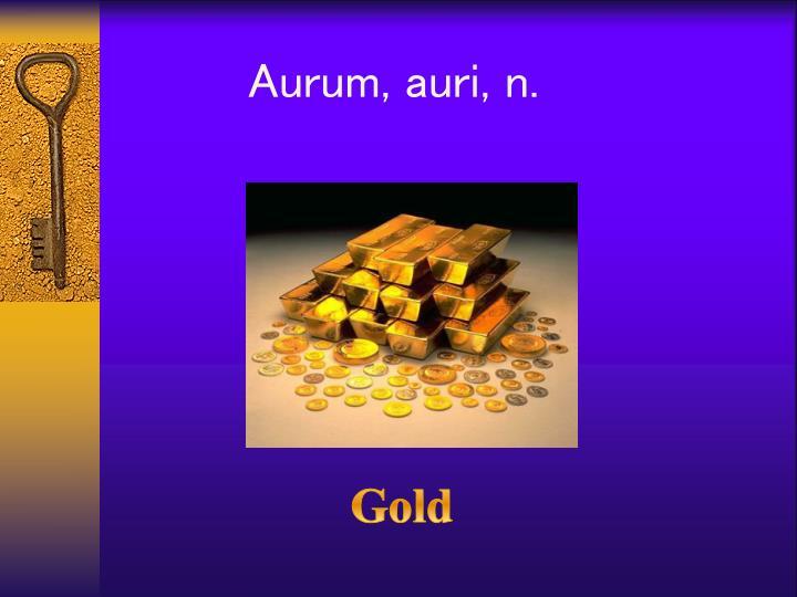 Aurum,