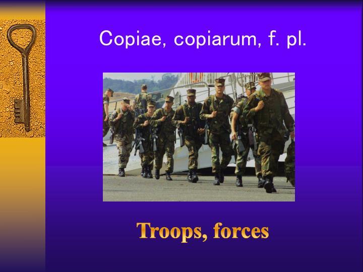 Copiae