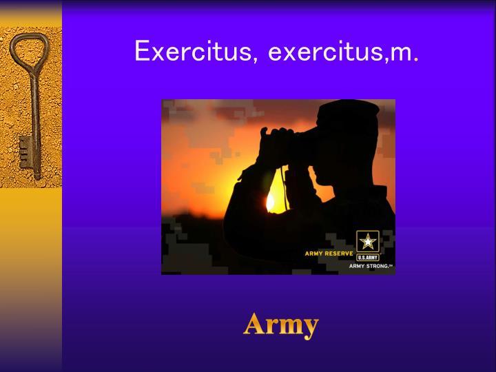 Exercitus