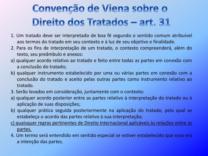 Convenção de Viena sobre o