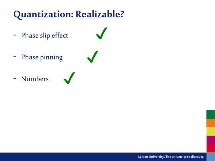 Quantization: Realizable?