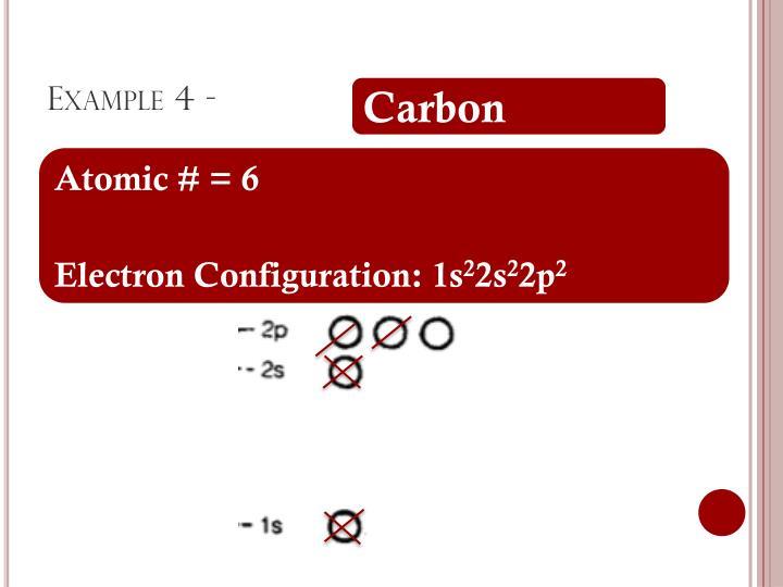 Example 4 -