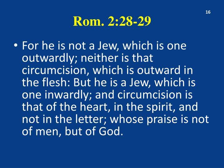 Rom. 2:28-29