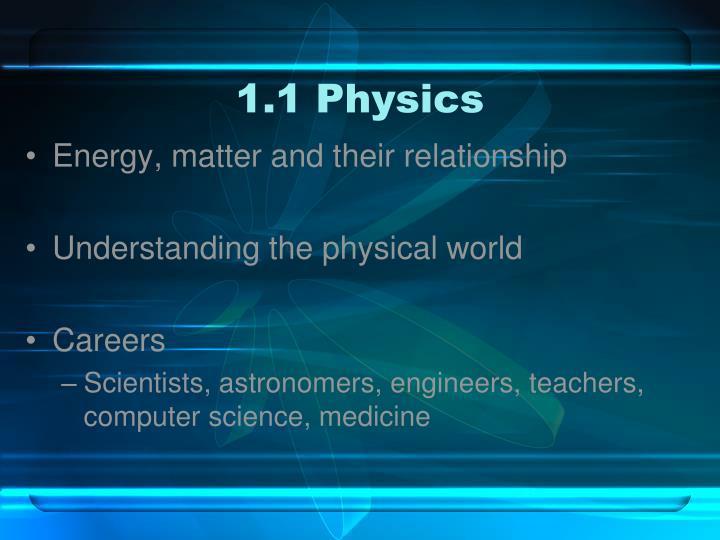 1.1 Physics