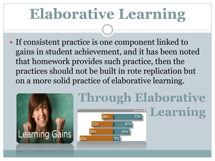 Elaborative Learning