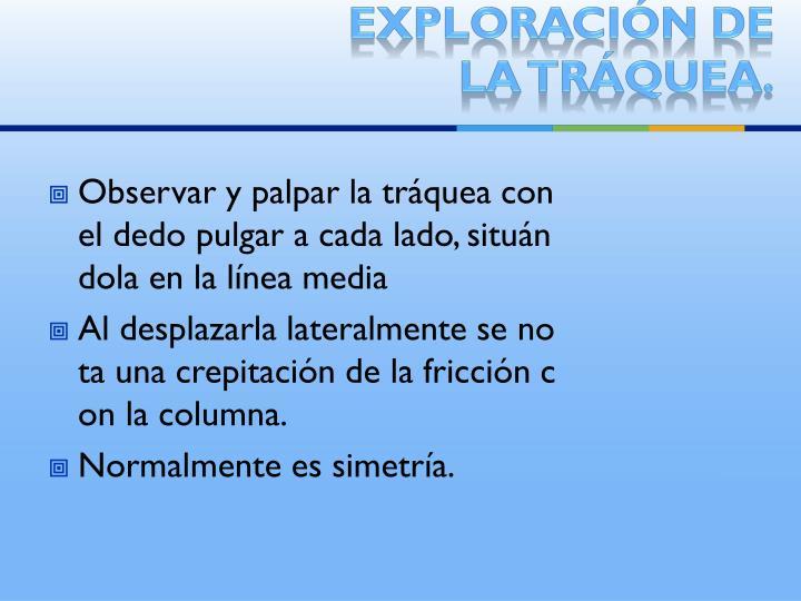 Exploración de