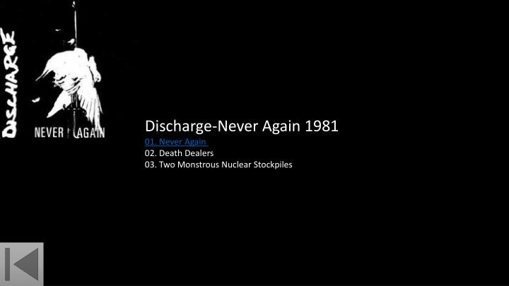 Discharge-Never Again 1981