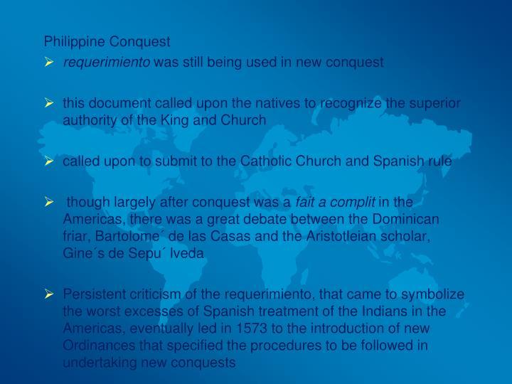 Philippine Conquest