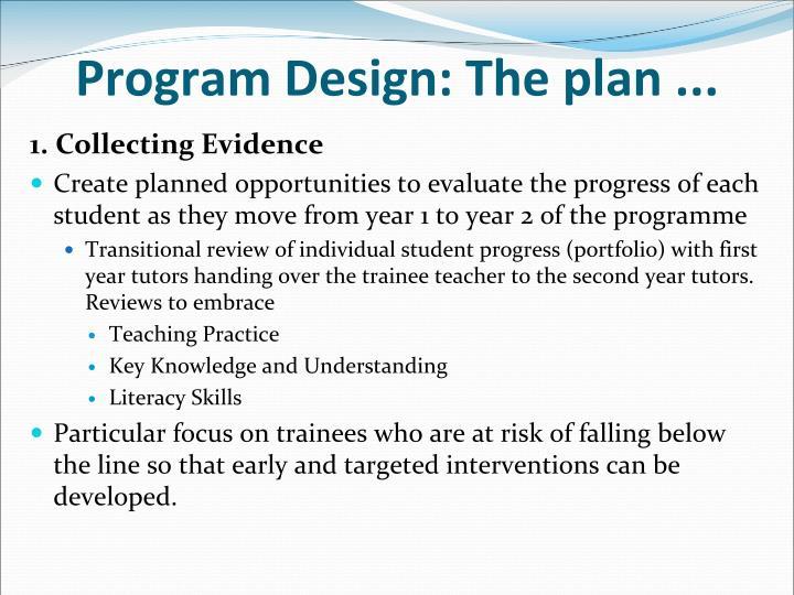Program Design: The