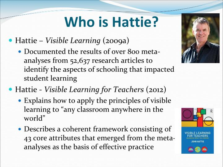 Who is Hattie?