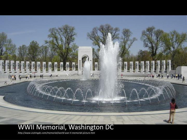 WWII Memorial, Washington DC
