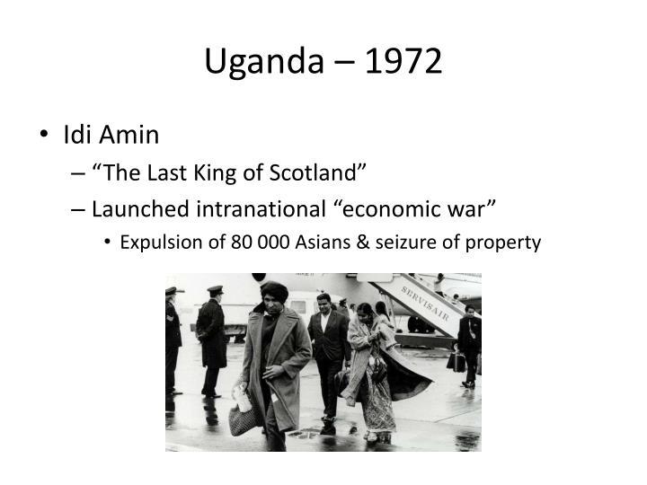 Uganda – 1972