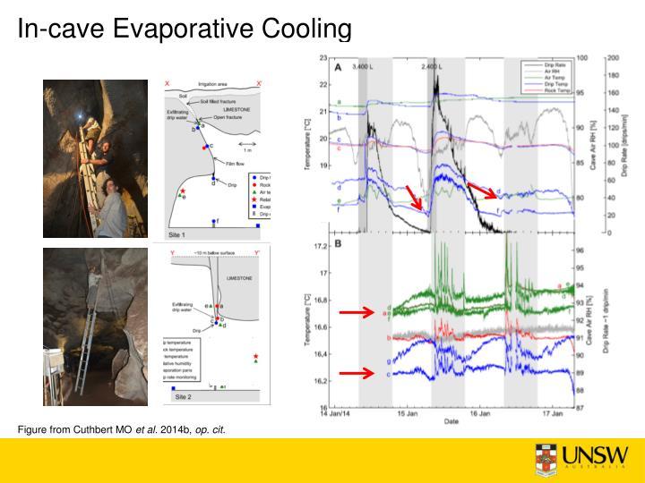 In-cave Evaporative