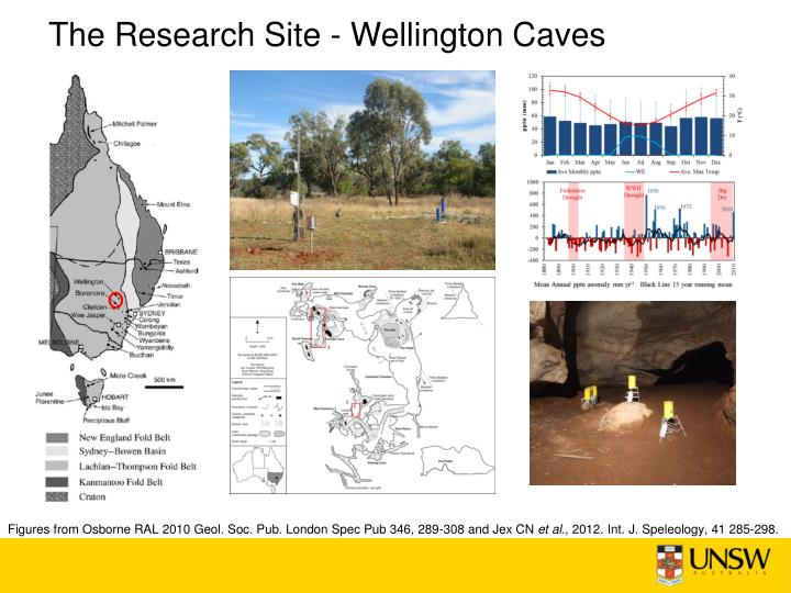 The Research Site - Wellington Caves