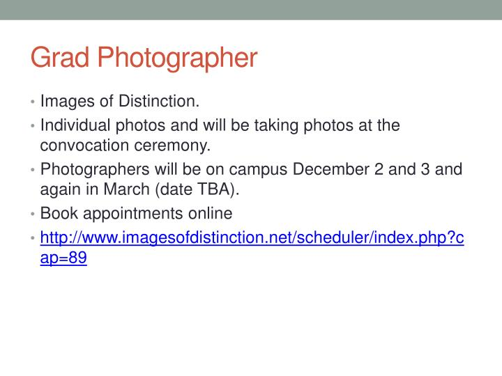 Grad Photographer
