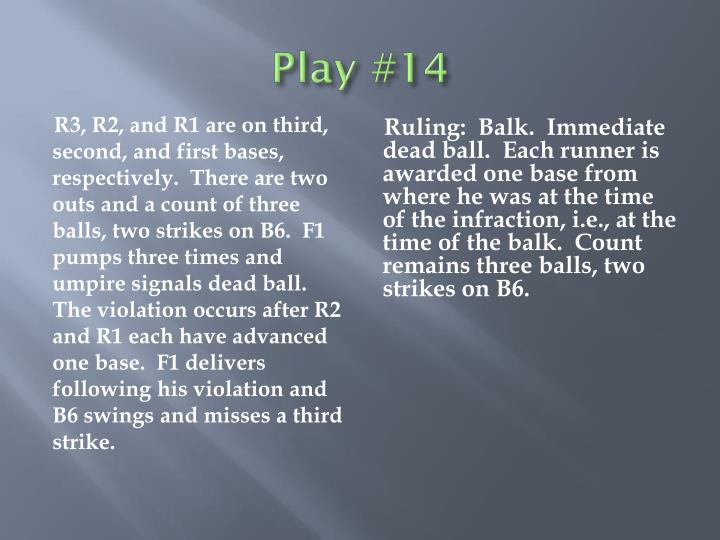 Play #14