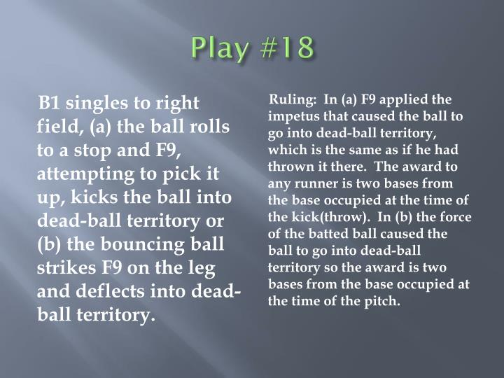 Play #18