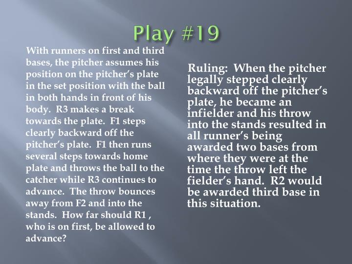 Play #19