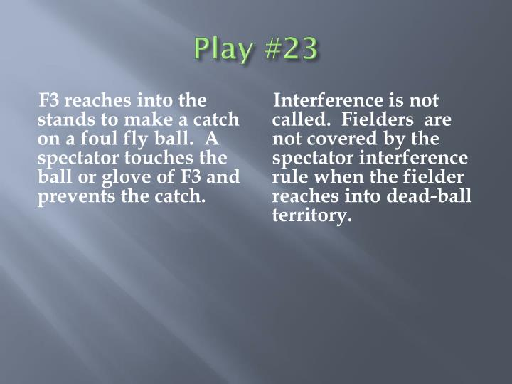 Play #23