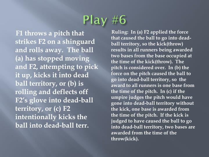 Play #6
