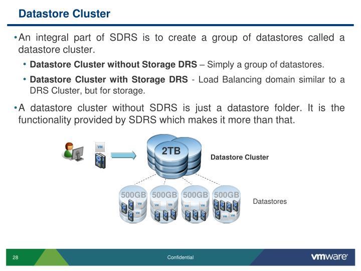 Datastore Cluster