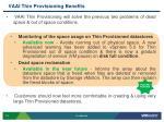 vaai thin provisioning benefits