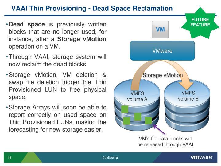 VAAI Thin Provisioning -