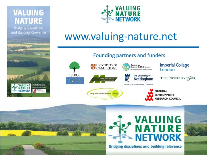 www.valuing-nature.net