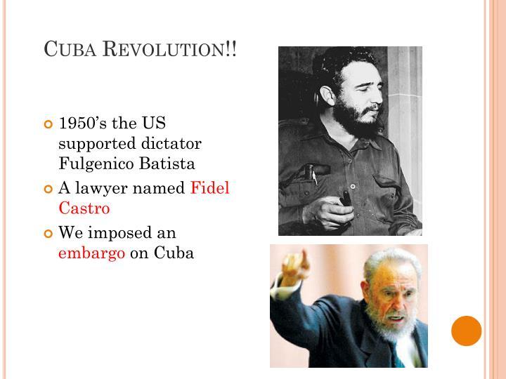 Cuba Revolution!!