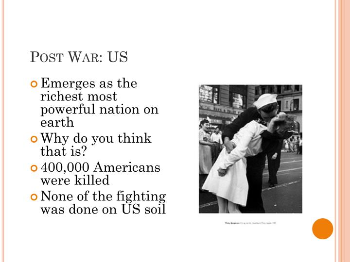 Post War: US