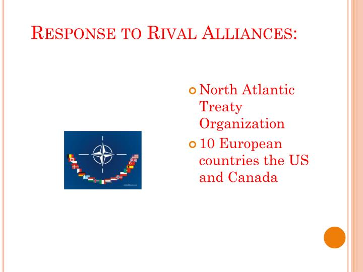 Response to Rival Alliances: