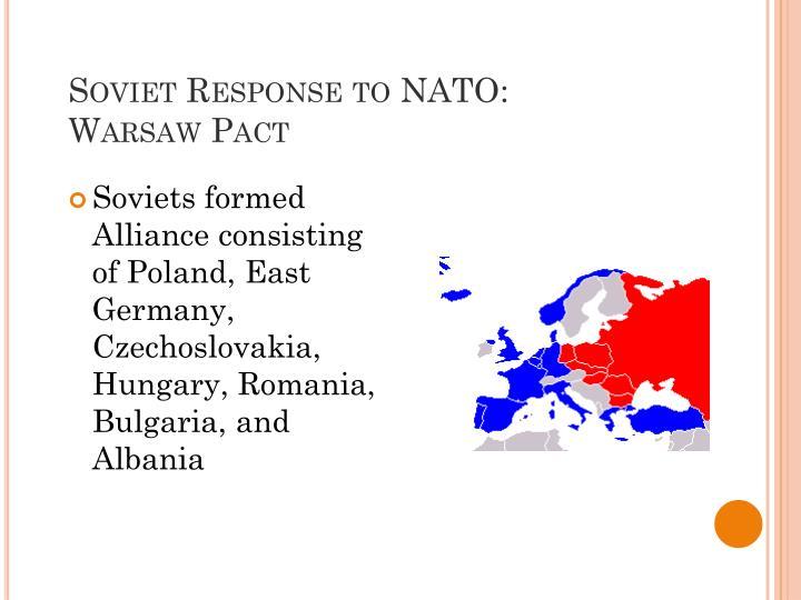 Soviet Response to NATO: